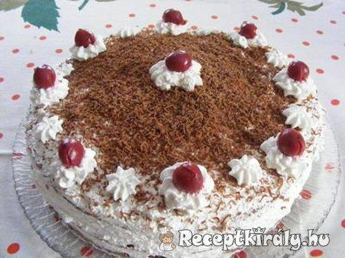 Feketeerdő torta 2