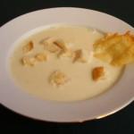 Fokhagymakrém leves 3
