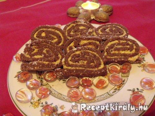 Kókuszos keksztekercs
