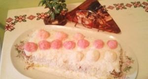 Különleges raffaello torta