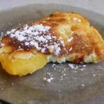 Mézesbarack édes tejfölben sütve 3
