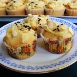 Marcipános muffin 2