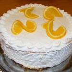 Narancs torta 1