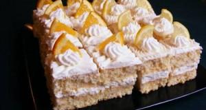 Narancskrémes kocka