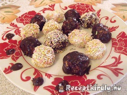 Rumos fahéjas sütőtökgolyók