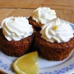 Sárgarépás muffin-citromkrémmel 1