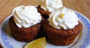 Sárgarépás muffin-citromkrémmel