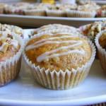 Sütőtökös-diós muffin 1