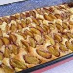 Szilvás sütemény 1