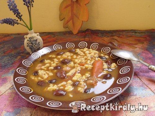 Tarkabab leves sajtgaluskával