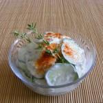 Tejfölös uborkasaláta2