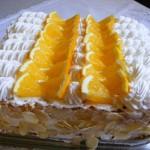 Tejszínes narancstorta 2