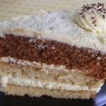 Vaníliás torta három féle piskótából 1