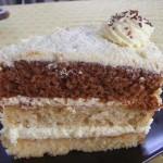 Vaníliás torta három féle piskótából 2