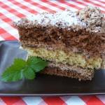 csokoládés kókuszos torta