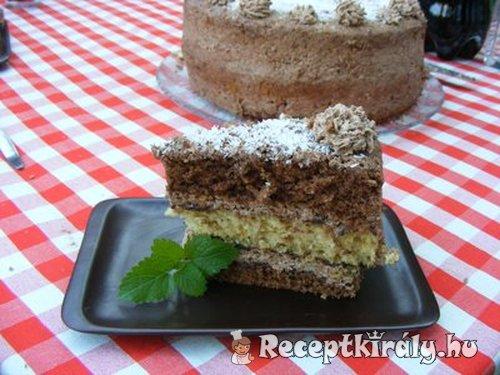 csokoládés kókuszos torta 2