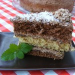 csokoládés kókuszos torta 3