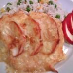 Almás sajtos csirkemell 1