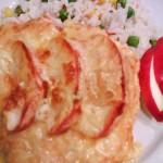 Almás sajtos csirkemell 3