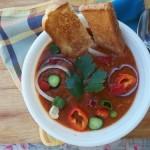 Andaluz gazpacho jól behűtve 1