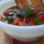 Andaluz gazpacho jól behűtve