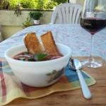 Andaluz gazpacho jól behűtve 2