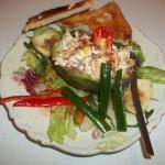 Avokádó rákfarkos zöldséges ananászsalátával chilivel 3