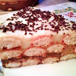 Babapiskótás torta 3
