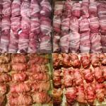 Baconos csirkemáj 1