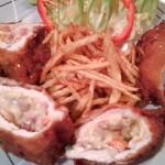 Baconos töltött pulykamell 2