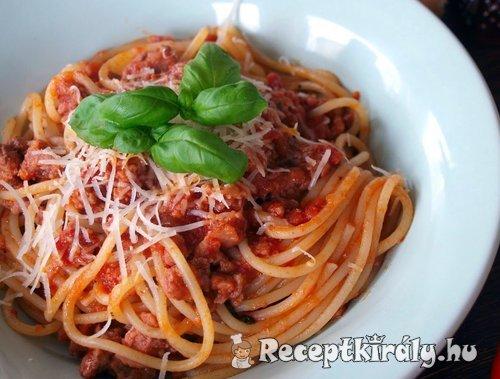 Bolognai spagetti - Receptkirály.hu