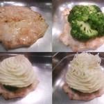 Brokkolis csirkemell csőben sütve