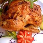 Chilis citromos csirke egészben sütve 2