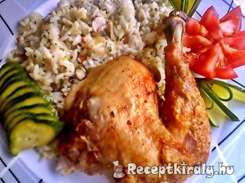 Chilis citromos csirke egészben sütve 3