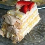 Citromos habcsók torta 2