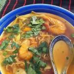 Csípős garnéla leves 2