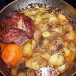 Csőben sült tarja krumplival 1