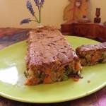Csőben sült vagdalthúsos zöldséges fasírt 1