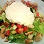 Csirkés saláta 1