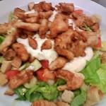 Csirkés saláta 2