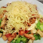 Csirkés saláta 3