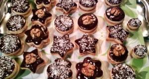 Csokis linzerek