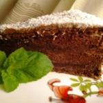 Csokis mogyorókrémes piskóta 1