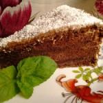 Csokis mogyorókrémes piskóta 2