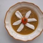 Cukkini krémleves mozzarellával 1