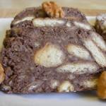 Diós keksz szalámi