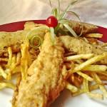 Fűszeres csirkemell csíkok burgonyás bundában 3