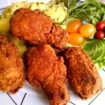 Fűszeres csirkeszárnyak kukoricás bundában 1