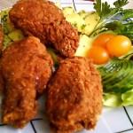 Fűszeres csirkeszárnyak kukoricás bundában 2