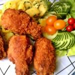 Fűszeres csirkeszárnyak kukoricás bundában 3